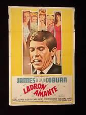 DEAD HEAT ON A MERRY-GO-ROUND * JAMES COBURN * ARGENTINE 1sh MOVIE POSTER 1966