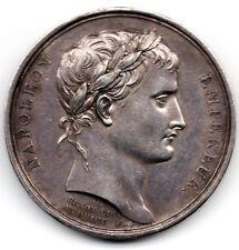 MEDAILLE EN ARGENT  NAPOLEON I 1804 -  ANDRIEU