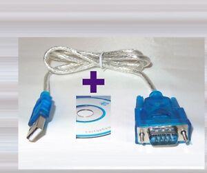 Adapter USB auf RS-232 Seriell Konverter Kabel PC Win Mac Linux Raspberry Pi #US