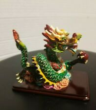 """Chinese Ceramic Porcelain Dragon Hong San Chinise Buddhist Temple Roof Dragon 4"""""""