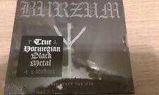 1BURZUM Hvis lyset tar oss 2018 SLIPCASE CD (Black Metal) Official Russian Edit.