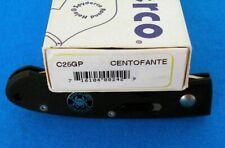 RARE Spyderco Centofante 1 G10 ATS-34 C25GP Discontinued knife NEW
