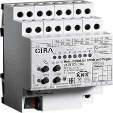 GIRA Heizungsaktor Bussystem KNX REG 6Ausg 1,5A 110-230V Handschaltung 6Ausg 1,5