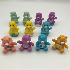 Care Bears Lot of 11 Birthday Cake Topper Toy Figures 7 on Clouds TCFC Brand