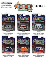 Greenlight 34020 Hitched Homes Series 2, Set of 6  1:64 Diecast Cars