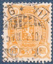 FINLAND  1895  20 Pen  Michel  30b  Good Used (B137)