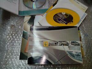 CD navigatore più libro uso e manutenzione Renault scenic edizione 06-03