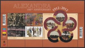SOUTH AFRICA - 2012 100th Anniversary of Alexandra Township sheetlet (MNH)