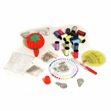 Budget Large Sewing Kit Travel Includes Tape Measure Pin Cushion Needles Thread.