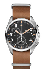 Hamilton Khaki Aviation Pilot Pioneer Chrono Black Dial Men's Watch H76522531