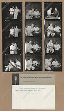 Cbs Radio Contact Sheet Photos Louis Armstrong Gary Crosby Show Rehearsal 1955