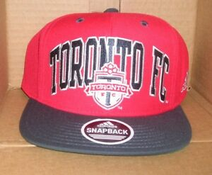 NEW MLS ADIDAS Toronto FC Flat Brim Snapback Baseball Hat Cap NEW NWT