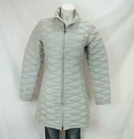 Patagonia Fiona Down Fill Puffer Parka Jacket Gray Women's Medium