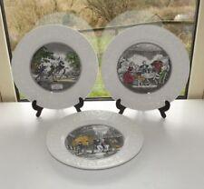 Ironstone 1960-1979 Date Range Adams Pottery Dinner Plates