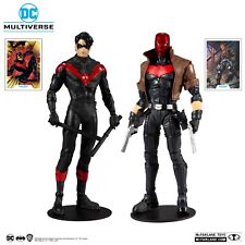 """McFarlane Toys DC Multiverse Red Hood and Nightwing 7"""" Action Figure Multipack"""