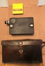 DeVry 16mm Motion Picture Movie Camera with Box -Chicago With SEALED 16mm Film.