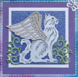 Winged Angel Cat Die Sweet Dixie SDD492