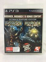 Bioshock 1 & 2: Ultimate Rapture Edition - With Manual - Playstation 3 / PS3