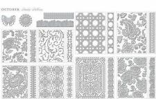 ANNA GRIFFIN CUTTLEBUG *PAISLEY PATTERNS* FOLDERS, DIES & BORDERS SET *NEW*