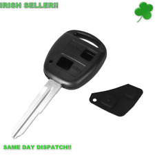 Toyota Car Key for Corolla Celica Rav 4 Yaris Hiace 2 Buttons Replacement Blank