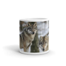 Wild Wolf - Animal Dog Wolves Gift - High Quality 10oz Coffee Tea Mug #8105