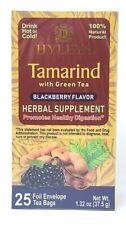 Hyleys Tamarind with Green Tea Blackberry Flavor 25 teabags