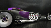 Dragster Drag Race 1 18 Car Hot Rod Custom Exotic Concept 24 Carousel Purple 12