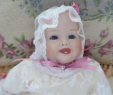"Vintage Bonnie Babe Bisque Doll 13"" Copr By Georgene Averell/1005/365712"