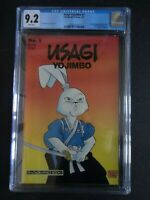 CGC Comic graded 9.2 Usagi Yojimbo 1st print #1  Key Netflix series
