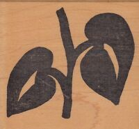 """sunflower hot potatoes Wood Mounted Rubber Stamp 3 x 3""""  Free Shipping"""