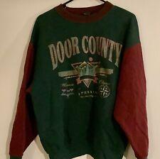Door County, Ephraim, Wi Vintage Mid-90s Men's Swearshirt, L, Pre-owned