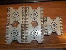 LOT OF 5 POTTER & BRUMFIELD 27E892 10A 300VAC RELAY SOCKET BASE 94X31C-E (DR3A1)