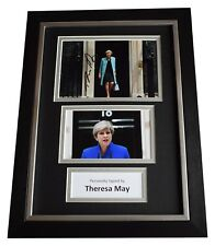 Theresa May Signed A4 FRAMED Autograph Photo Display Prime Minister AFTAL COA