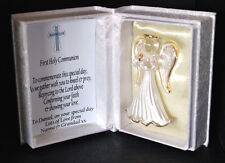 First Holy Communion Commemorate Personalised Angel gift for Boy #7