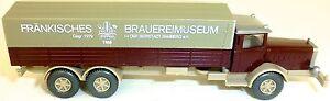French Brewery Museum Bamberg Wiking Mercedes Truck H0 1:87 Å