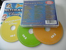 ULTIMATE DISNEY 3 CD BOX 42 TITEL LEBENSKREIS GOT OHNE BINDEBÄNDER HAKUNA MATATA