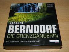 Jacques Berndorf - Die Grenzgängerin - 11 CD - ungekürzte Fassung - 757 Minuten