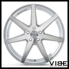 "19"" ROHANA RC7 SILVER CONCAVE STAGGERED WHEELS RIMS FITS ACURA TL"