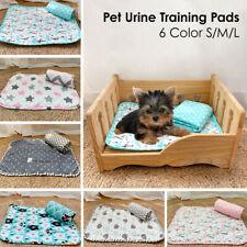 S/M/L Pet Puppy Dog Cat Bed Pee Mat Washable Reusable Diaper Urine Training Pads