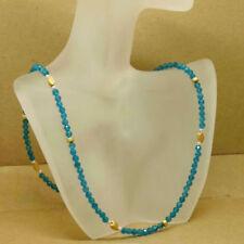 Unbehandelte Echtschmuck-Halsketten Apatit