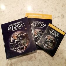 Elementary Algebra - Harold R. Jacobs Revised Edition + DVDs & Solutions Manual!
