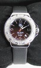 WAC1214.FC6218 Tag Heuer Formula 1 Glamour Diamonds Ladies Black Satin Watch