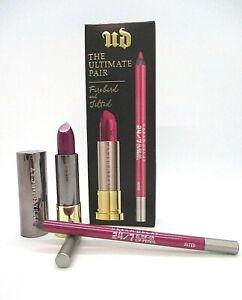 Urban Decay The Ultimate Pair Lipstick + Lip Pencil ~ Firebird and Jilted ~ BNIB