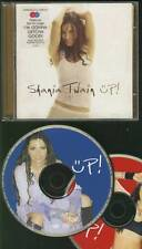 SHANIA TWAIN Up! limited ED DOUBLE CD W POSTER FREE WW SHIPPING