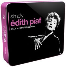 EDITH PIAF - SIMPLY EDITH PIAF (3CD TIN) 3 CD NEW+