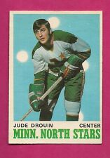 1970-71 OPC # 171 NORTH STARS JUDE DROUIN  ROOKIE VG  CARD  (INV# A1960)