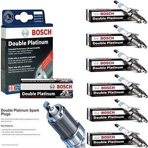 6 pcs Bosch Double Platinum Spark Plugs For 2010-2011 MERCURY MILAN V6-3.0L