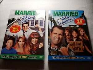 Married...With Children - The Complete 5th And 6th Season(DVD, 2006, 3-Disc Set)