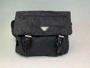 Prada Soft-Sided Nylon Black Handbag, Carrier So Versatile