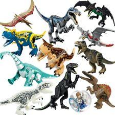Lego Jurassic World compatibile 2 Building dinosauri Figures T-Rex Indominus